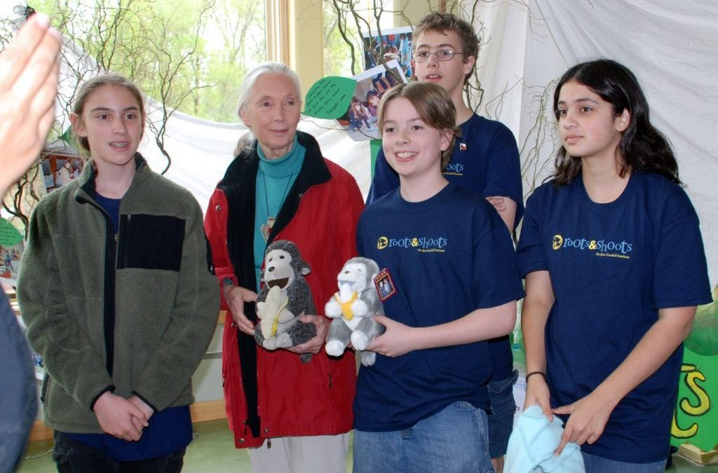 Daniel's role model – Dr. Jane Goodall