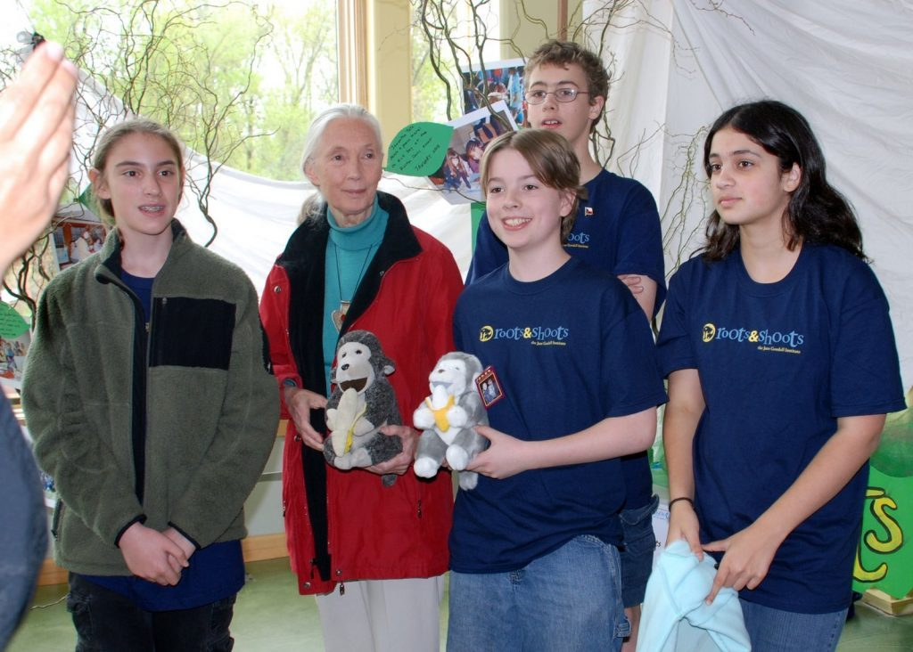Meeting Jane Goodall